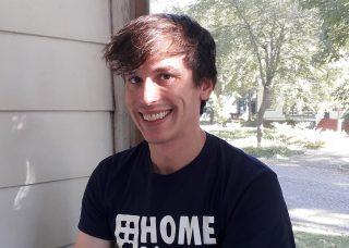 A photo of Stephen Sherman taken outside