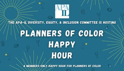 Planners of Color Happy Hour hosted by APA-IL