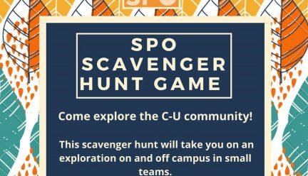 SPO Scavenger Hunt Game, weekend of October 24