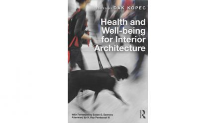 cover of Health and Well-Being for Interior Architecture