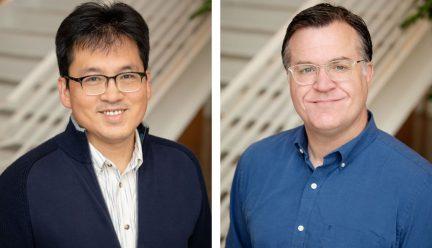 head shots of Yun Kyu Yi and Scott Murray