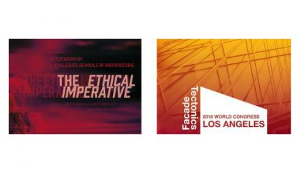 posters for The Ethical Imperative and Facade Tectonics