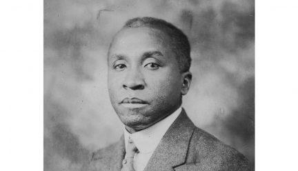 head shot of Walter T. Bailey