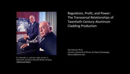 slide from Tait Johnson's presentation