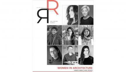 cover of Ricker Report with photos of eight women