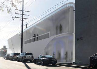 exterior rendering of methadone clinic proposal