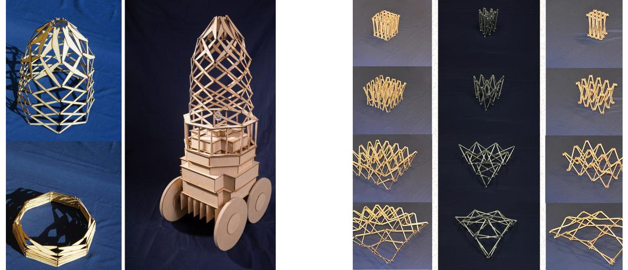 Images of deployable structures models