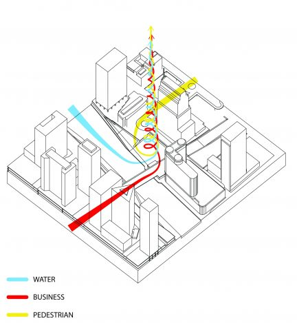 Concept diagram producing tower form