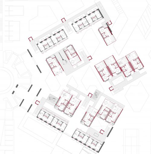 Residential Wing Second Floor Plan
