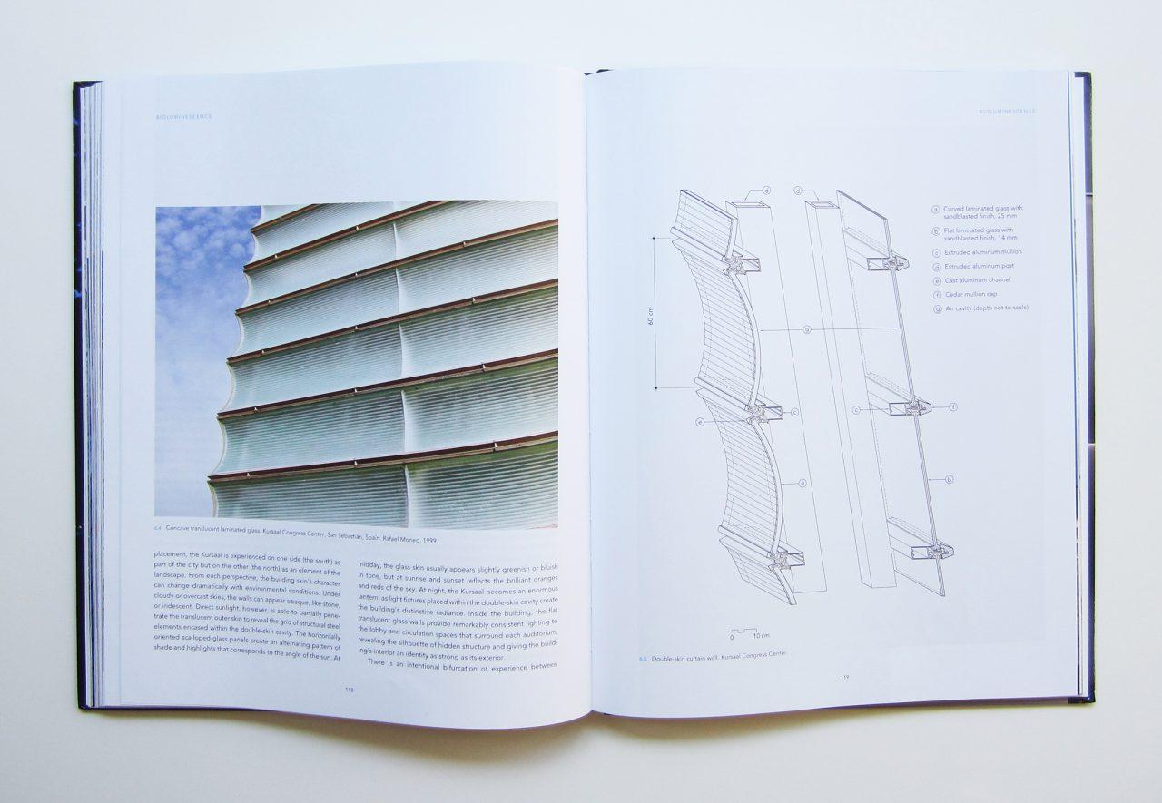 Interior spread of book