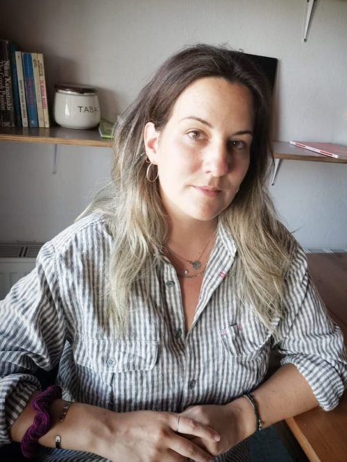 Headshot of Angelina Tsoukala