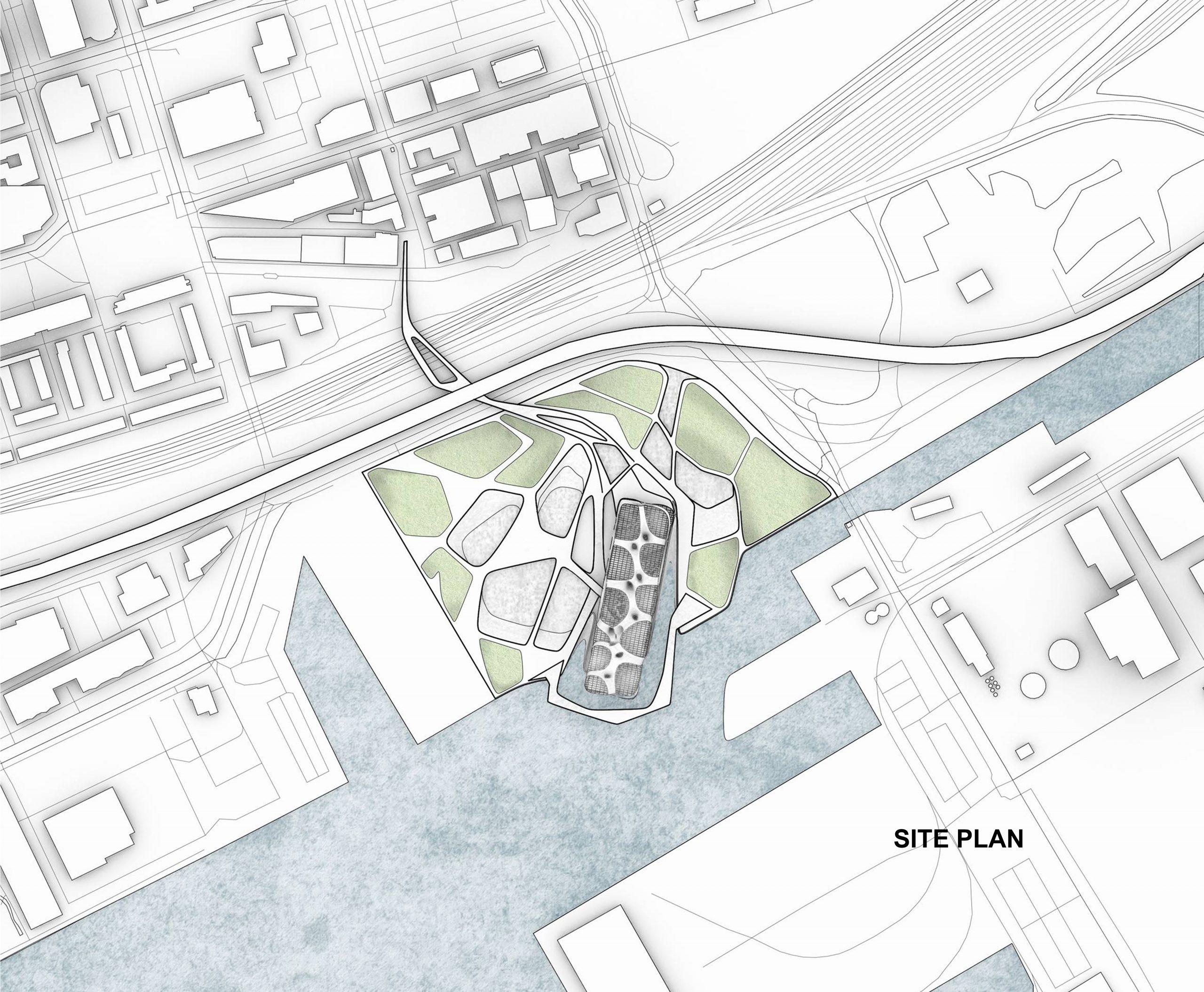 Site plan, Toronto, ON.