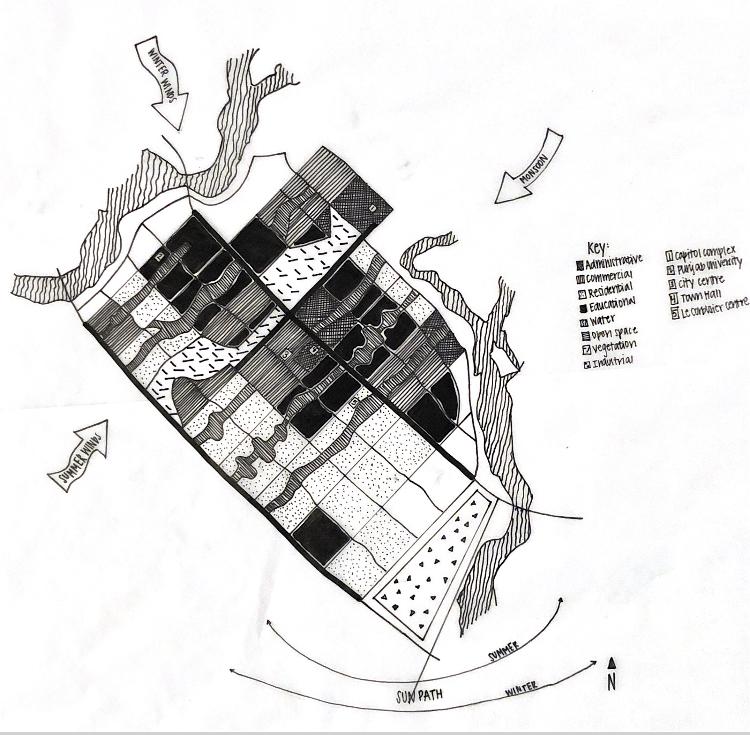 Urban analysis of Chandigarh