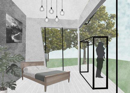 interior collage view