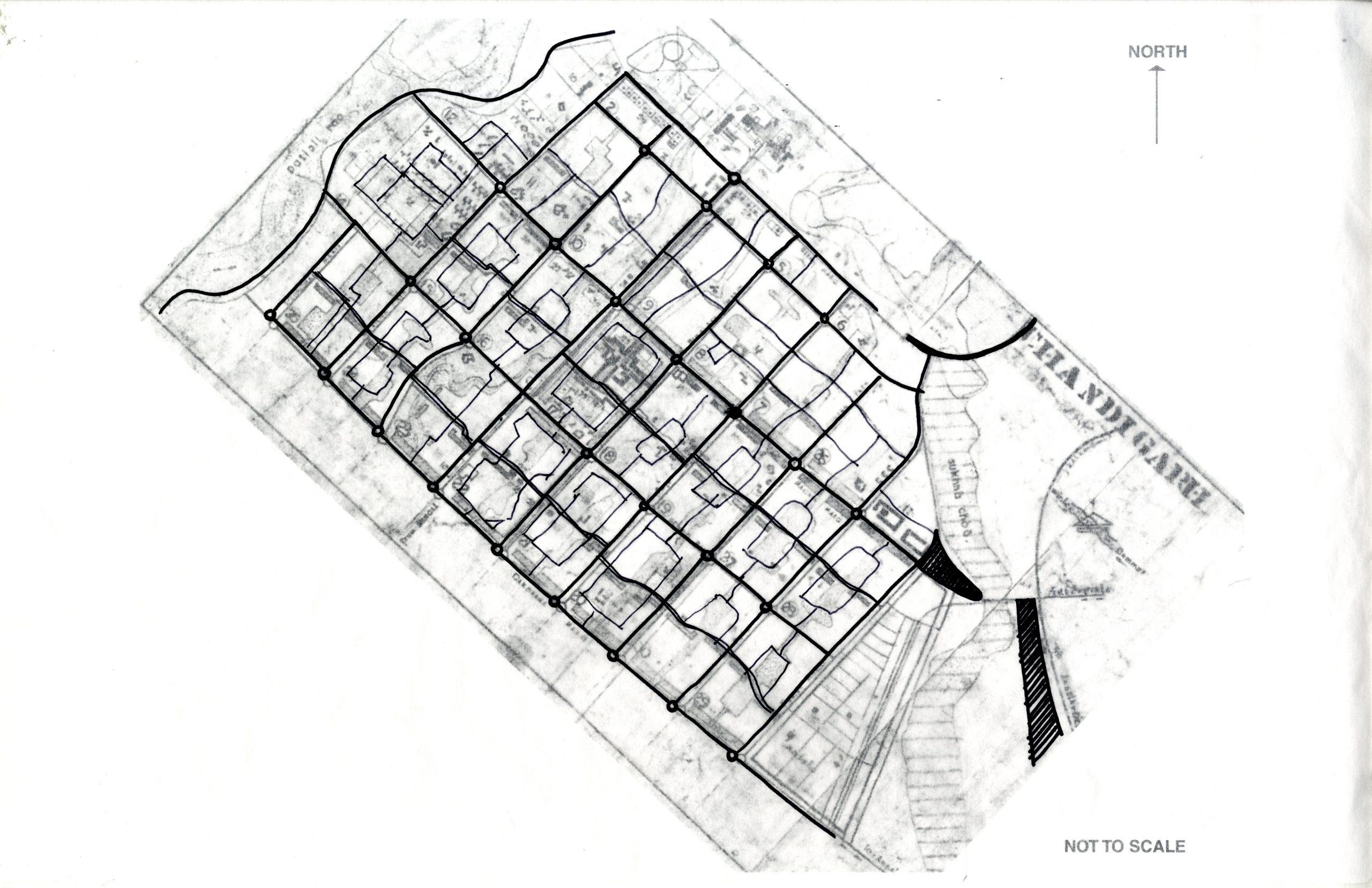 Urban analysis of Chandigarh - roads