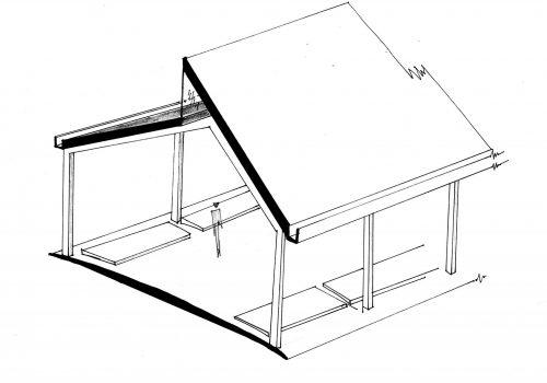 Pavilion section