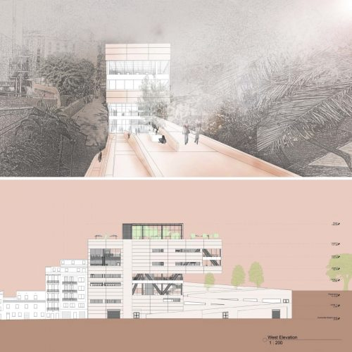 rendering and elevation