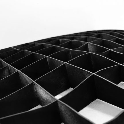 egg-crate topography model