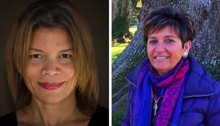 headshots of dina griffin and kathy anthony