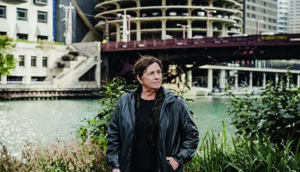 Carol Ross Barney by the Chicago River