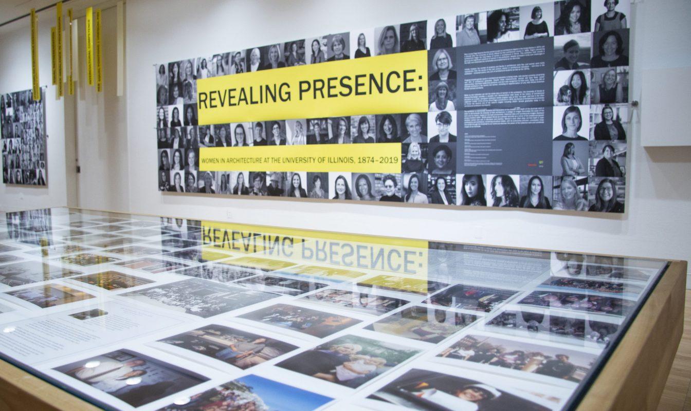 Revealing Presence exhibit at Krannert Art Museum