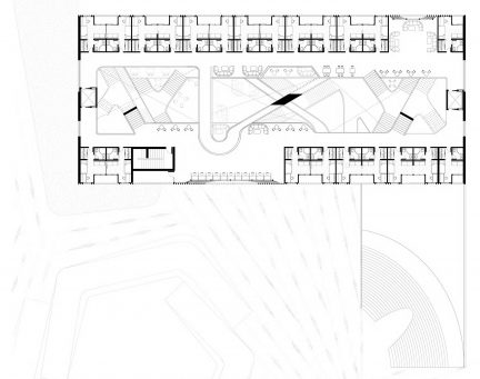 floor plan of campus building design
