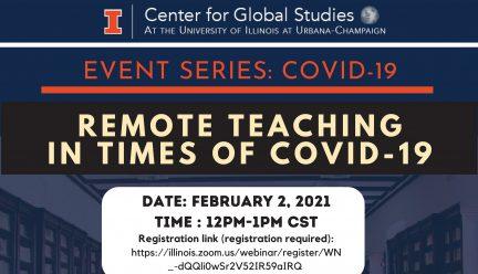 remote teaching panel poster
