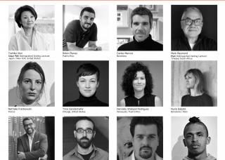 grid of headshots of visiting faculty