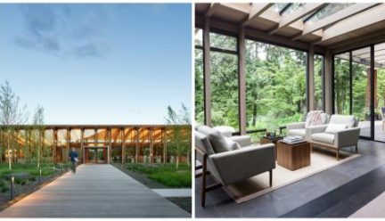 two architectural designs by Jim Graham