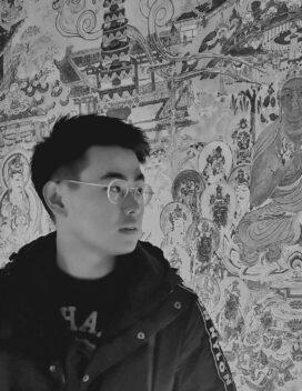 black and white headshot of kevin yan