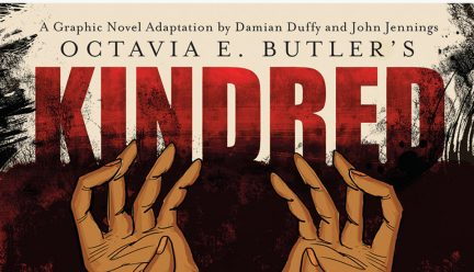 Partial cover of Kindred: A Graphic Novel Adaptation by Damian Duffy and John Jennings