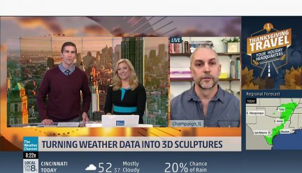 Stephen Cartwright on the Weather Channel
