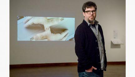 Ben Grosser with art