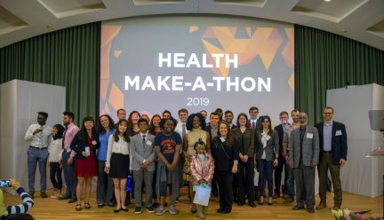 Competitors at the Health-Make-a-Thon