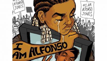 I Am Alfonso Jones cover by Stacey Robinson