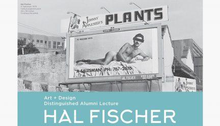 Photo of a billboard by Hal Fischer