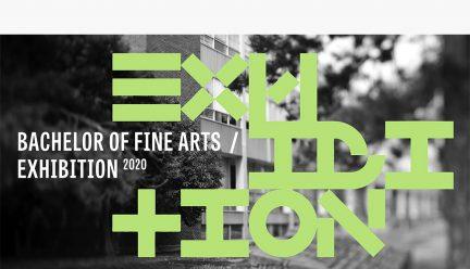 BFA 2020 Exhibition graphic