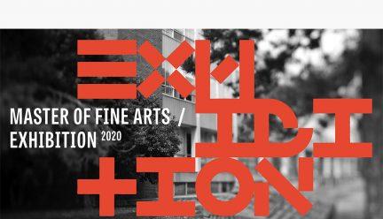 MFA 2020 Exhibition graphic
