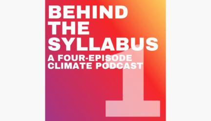 Behind the Syllabus graphic