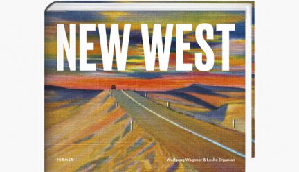Partial cover of New West by Leslie Erganian