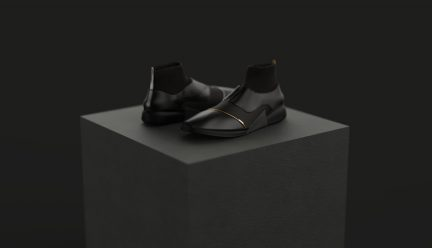 Off-Normal dress shoes by Hengbo Zhang