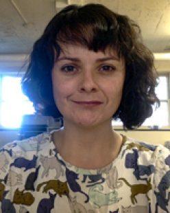 Portrait of Guen Montgomery