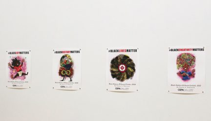 Black Lives Matter posters by Stacey Robinson