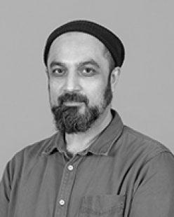 Portrait of Salman Raheel