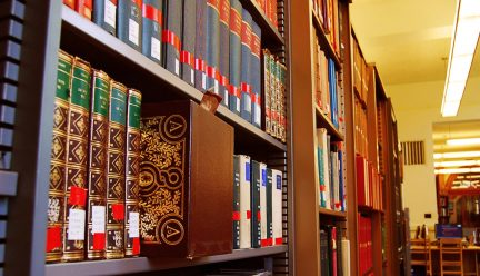 Books at Ricker Art and Architecture Library
