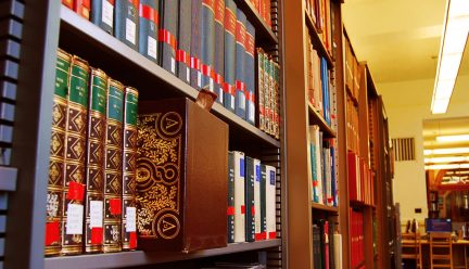 Books at Ricker Library