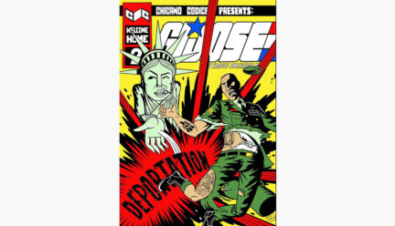 Cover of G. I. Jose comic by Eric J. Garcia