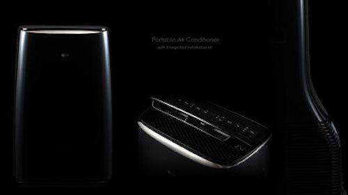 Rendering of industrial designs in black on black