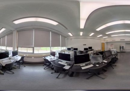 360-degree of a computer lab