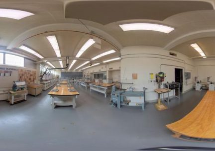 360 photo of the 3D Fab Lab